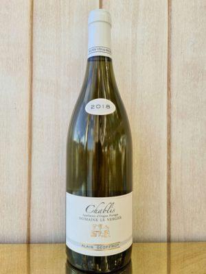 2018 Burgundy Alain Geoffroy Chablis, Chardonnay