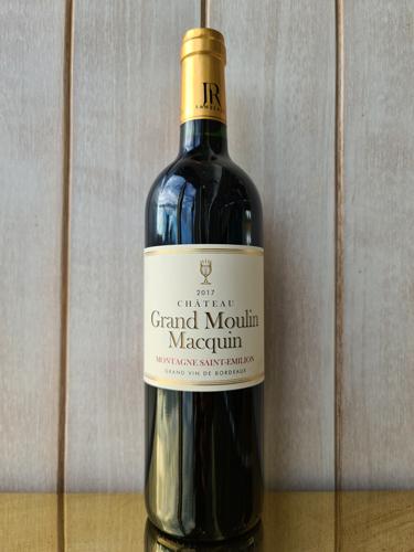 2017 Château Grand Moulin Macquin, Montagne-Saint-Émilion