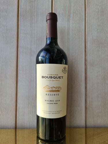 2018 Mendoza Reserve Malbec, Domaine Bousquet, Bio Dynamic
