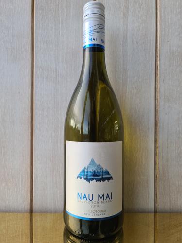 2019 Nau Mai Sauvignon Blanc