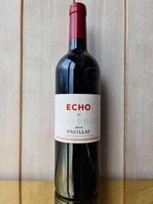 2014 Pauillac Château Lynch Bages Echo