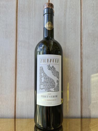 2019 Ziobaffa Organic Pinot Grigio